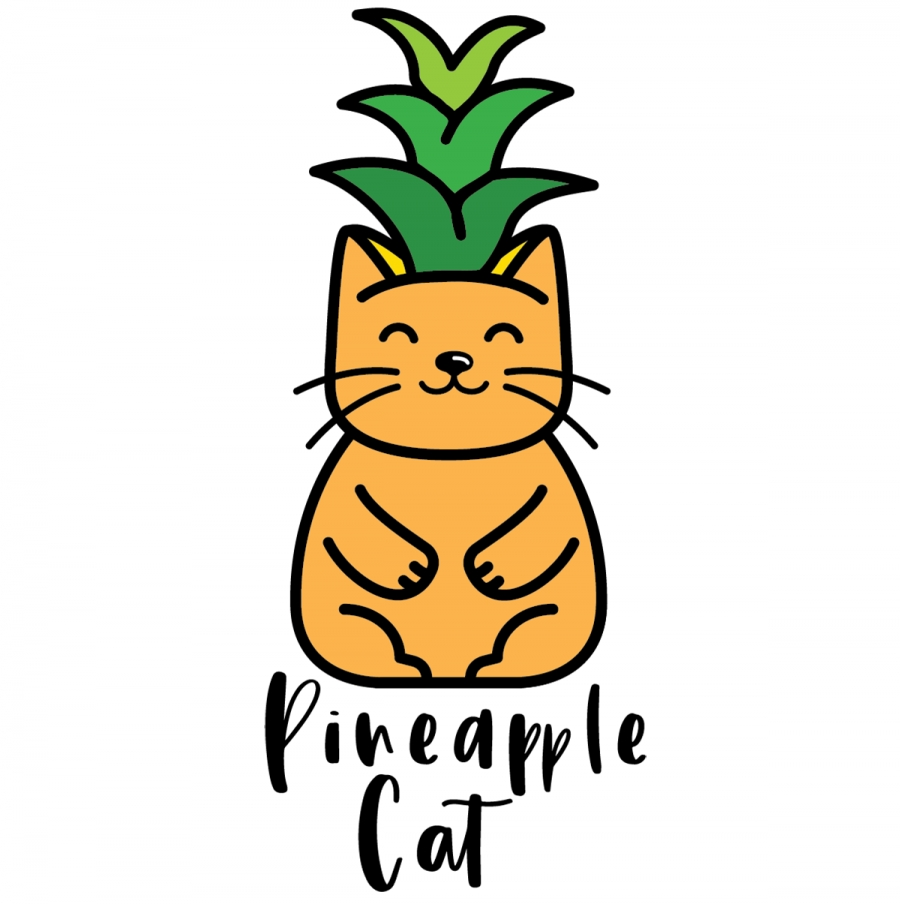 Pineapple Cat