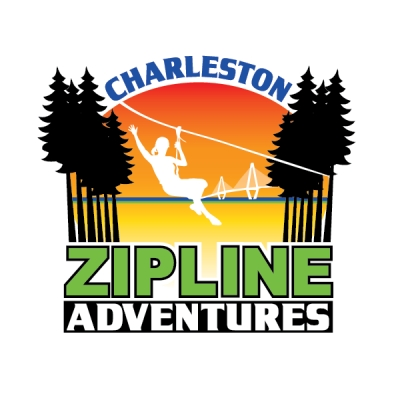 Charleston Zip Line Adventures Logo