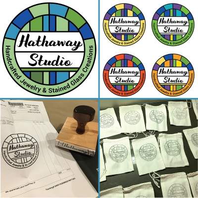 Hathaway Studio Stained Glass - Logo